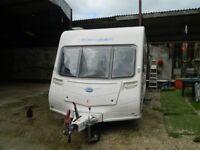 2010 Bailey Ranger GT60 series 6 510-4 4 berth touring caravan