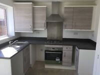 Brand new fitted kitchen with hobb oven and extractor for sale!