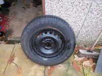 New caravan tyre