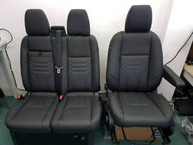 Ford transit custom heated seats freshly trimmed in nappa leather