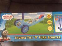 Thomas tilt n turn scooter brand new