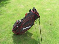 golf bag Ben Sayers stand bag nice used order