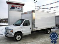 2015 Ford E450 16 ft Cube Van - 16,319km - CVIP Certified