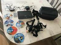 """Philips PET723/05 portable DVD player 7"""""""