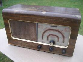 VINTAGE RADIO MC MICHAEL 471U VALVE RADIO