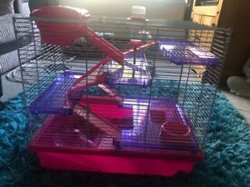 XL Rosewood hamster cage for sale
