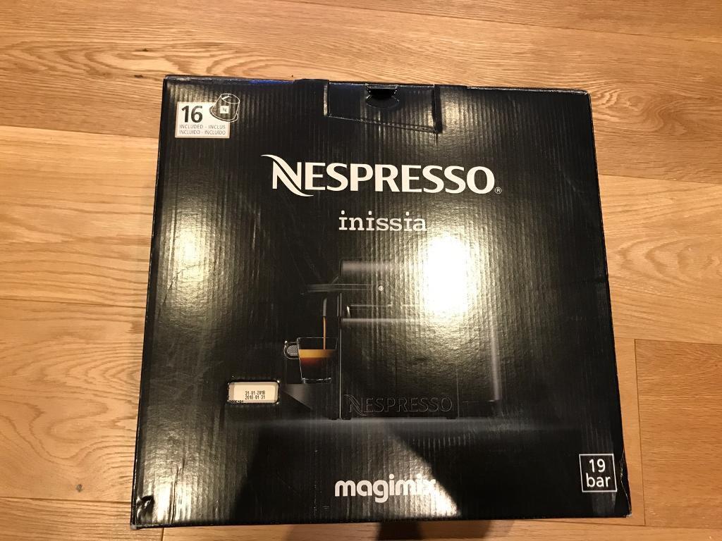 Nespresso Inissia Magimix
