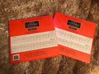 2 x Collins Cathedral analysis books Brand New