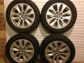 "16"" BMW alloy wheels (5x120)"