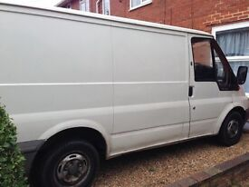 55 plate ford transit