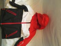Skiing kids clothes