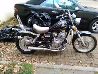 Bikes been sitting down for years.nice bike up for offers