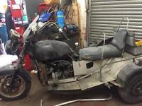Reliant robin trike needs work spares or repairs
