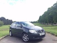 2009 VW VOLKSWAGEN POLO MATCH 1.2 PETROL, MANUAL, 5-DOOR HATCHBACK **NEW MOT & SERVICE** 54,000