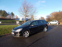 VAUXHALL ASTRA 1.7 CDTI DIESEL SRI ESTATE BLACK 2008 BARGAIN ONLY £1450 *LOOK* PX/DELIVERY