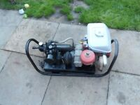 Honda petrol air compressor