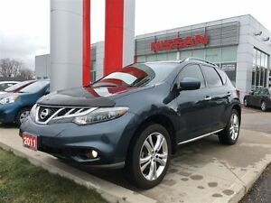 2011 Nissan Murano LE, LEATHER, HEATED FRONT/REAR SEATS, BOSE