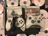 Xbox 360 20gb with 52 games worth £100+