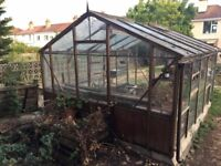 Free Greenhouse (10ft x 13ft) Available Immediately - Dismantle & Collection Only