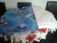 Cot bed size quilt and cover