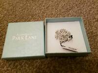 New in bix Park Lane Accessories silver coloured Brooch