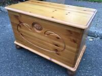 Solid pine storage Chest / Trunk. Delivery Possible