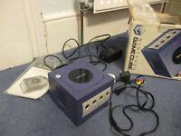 Nintendo gamecube console + 12 games