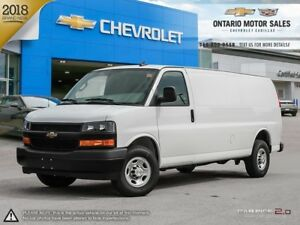 2018 Chevrolet Express 2500 Work Van 2WD / VORTEC 6L V8 ENGIN...