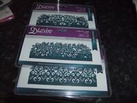 Dies for die cutting Edgeables Brand new