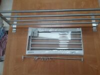 Kitchen shelf & towel rail