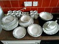 REDUCED TO £10 Plates, Bowls, Mugs Black and White Design Sets Kitchen and Dining