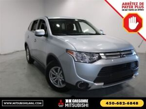 2015 Mitsubishi Outlander ES AWD Sieges-Chauffant Bluetooth Crui