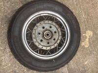 Vn1500 classic rear wheel