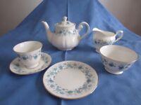 Attractive 21 piece Vintage China Tea Service