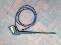 Karcher high pressure hand gun and hose