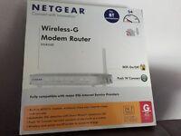 Netgear Wireless Modem Router DG834G Brand New