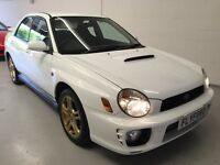 2003 SUBARU IMPREZA WRX WHITE - GUARANTEED CAR FINANCE CAR CREDIT