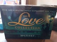 Set of 20 Cds love songs