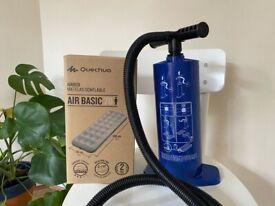 Air bed & pump DECATHLON
