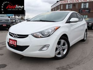 2013 Hyundai Elantra GLS Bluetooth-Sunroof-Alloys-AccidentFree