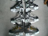Skates - Sizes 5.5, 6, 7, 7.5, 8 Easton and Bauer
