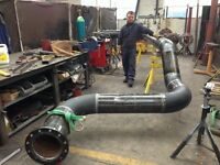 I am pipe welder,fabricator,mig,arc,high level,looking for a job