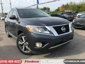 2013 Nissan Pathfinder Platinum | NAV | PANO RF | DVD | LEATHER