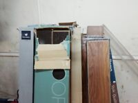 Job lot of laminate flooring(Mixed)