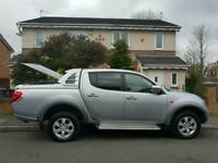 2007, Mitsubishi L200. Diamond model. Automatic. top of the range. lovely truck. NO VAT!