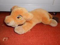 Disney Lion King Kiara soft toy, 34cm long plus tail, good clean condition