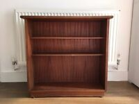 High quality vintage wooden bookcase, perfect condition