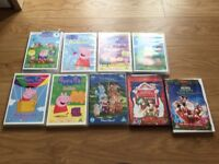 DVD peppa pig, Mickey Mouse and in the night garden