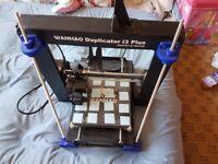 Wanhao i3 plus 3D printer