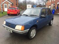 1990 CLASSIC PEUGEOT 205 GR SOILED CAR FSH £495
